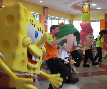 Universal Studios Orlando Vacation Character Dining