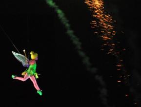 Tinker Bell in Flight at Magic Kingdom