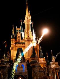 Tinker Bell at Magic Kingdom